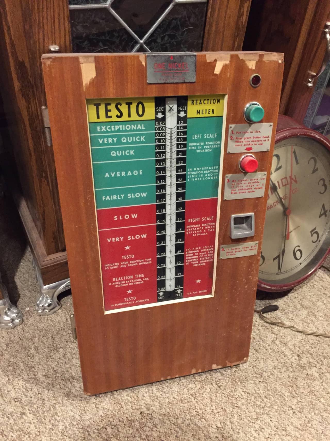 Testo Reaction Meter