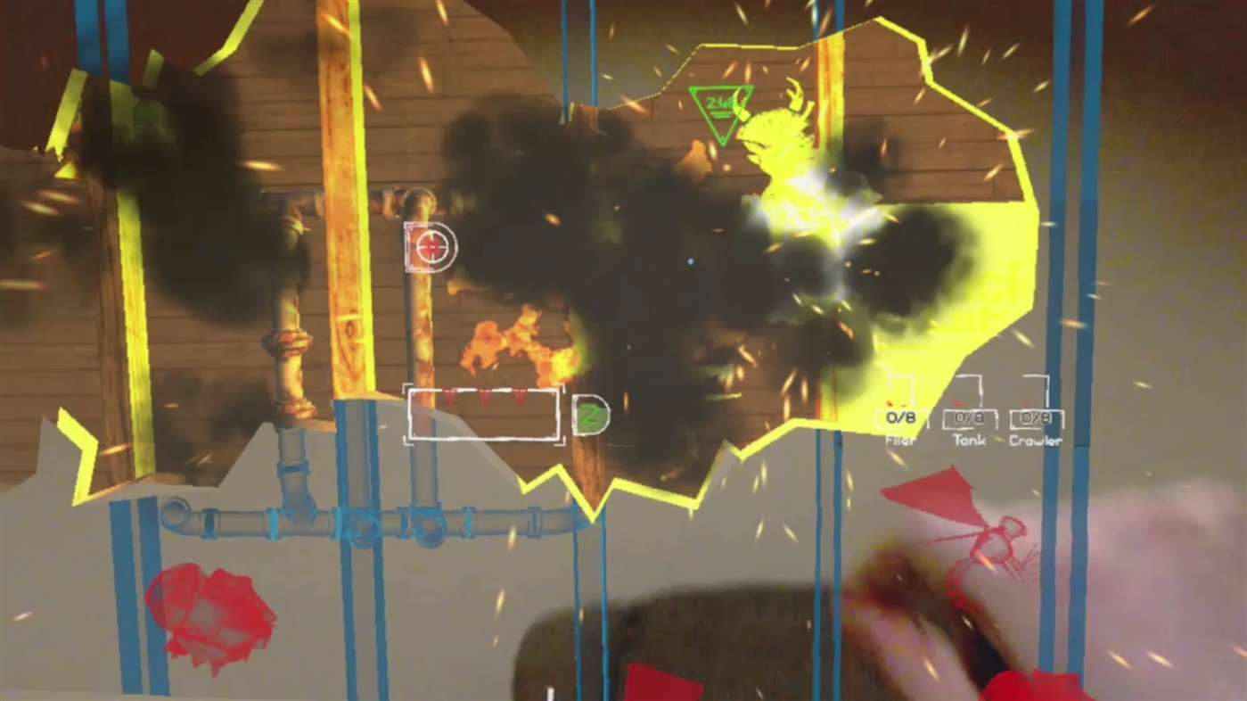 Exterminate gameplay explosions
