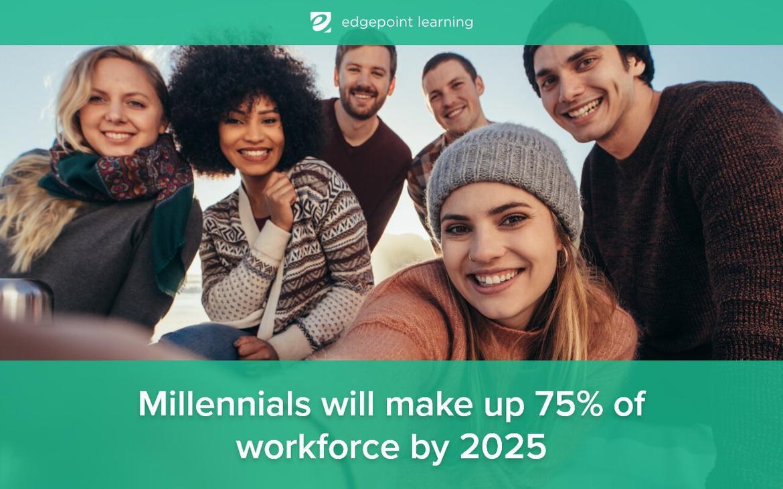 Millennials will make up 75% of workforce by 2025