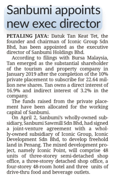 19apr24 the star business sanbumi appoints new exec director