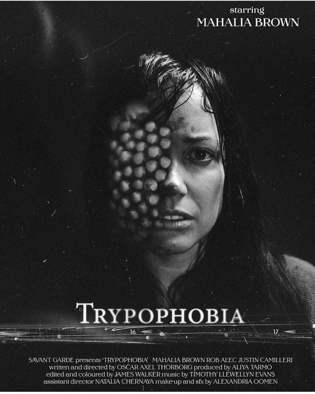 Trypophobia, Mahalia Brown, Actor, Melbourne, Australia