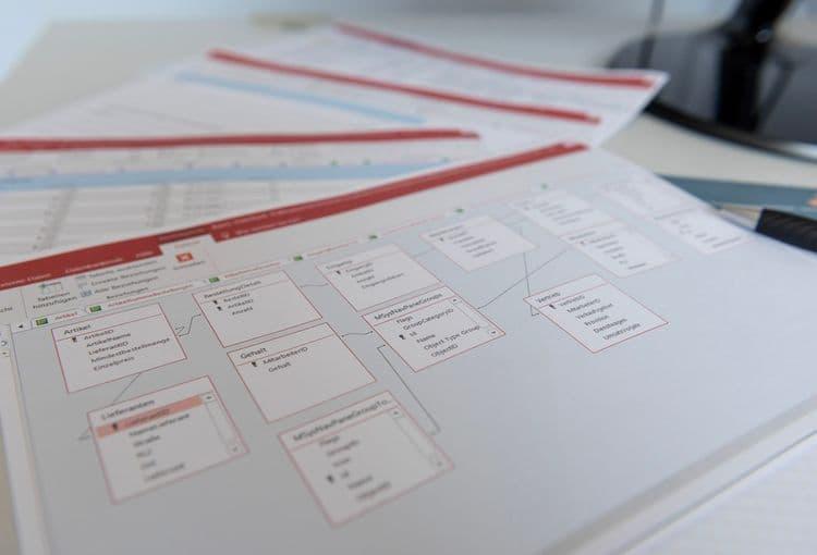 Schulungsunterlagen zum Bereich Access-Tabellenverknüpfung