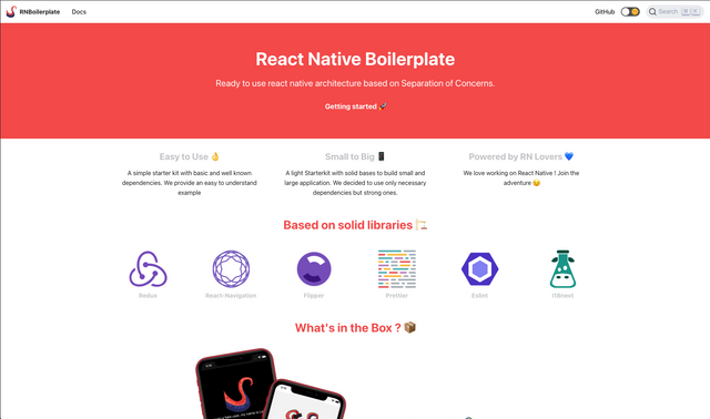 React Native Boilerplate