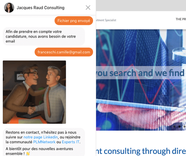 JRC chatbot join our socials