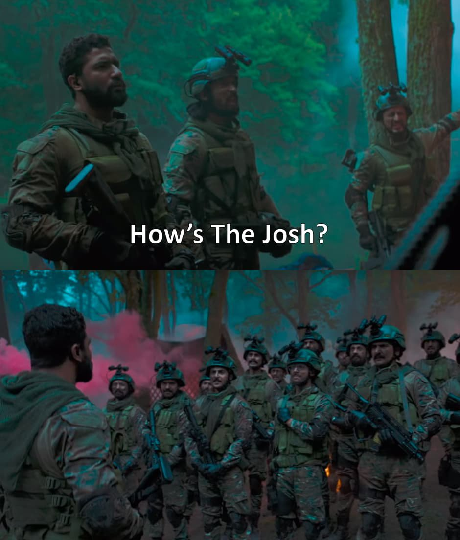 Vicky Kaushal in Uri How's The Josh?