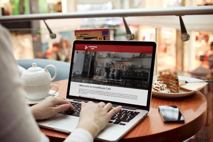 GrindHouse Cafe Website