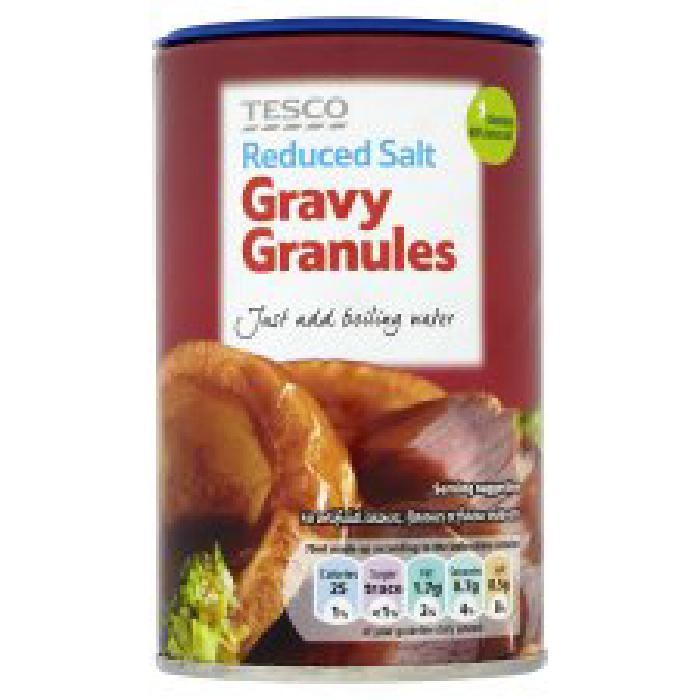 Tesco Reduced Salt Gravy Granules
