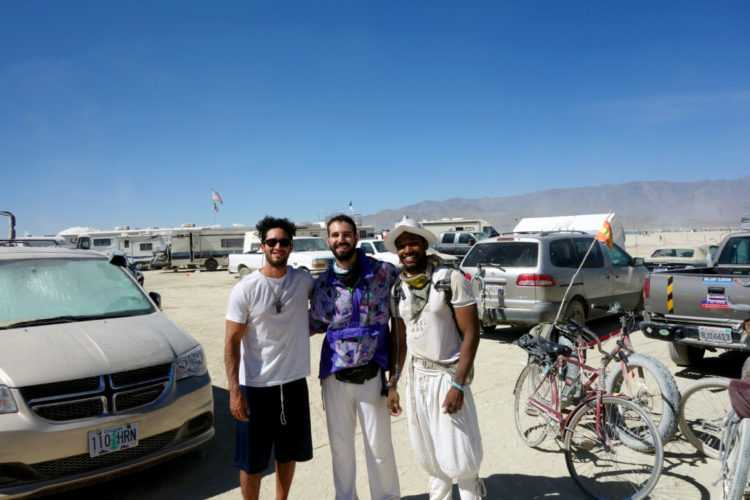 Burning Man with ex co-workers