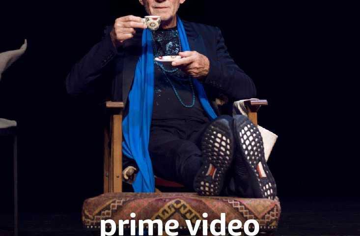 Ian McKellen on Stage on Amazon Prime