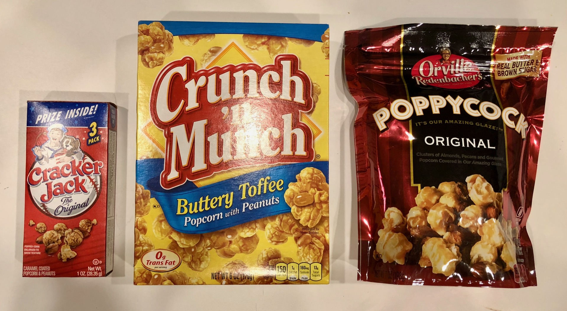 Popcorn-based snacks