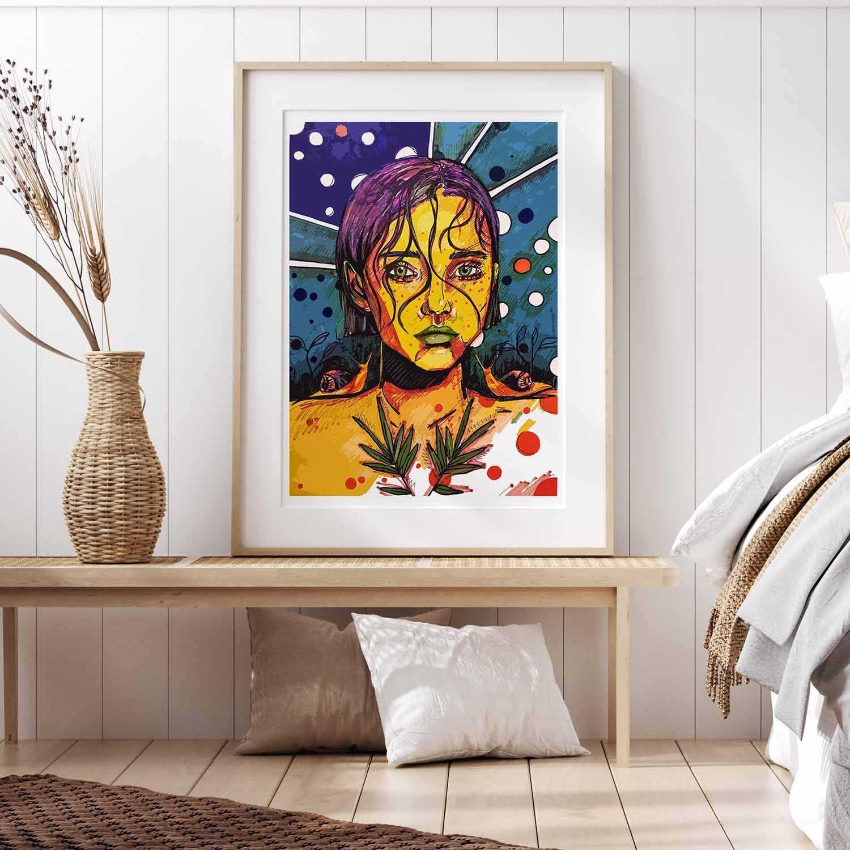 'Jade' Giclée Art Print