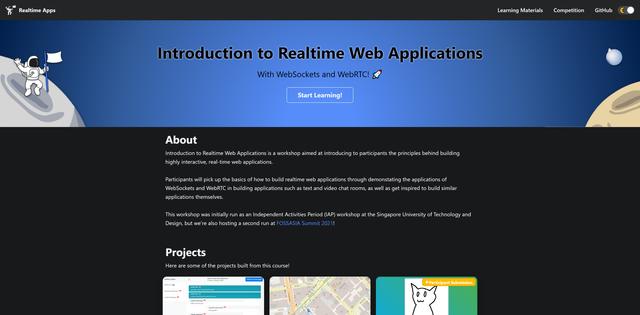 Realtime Web Applications Workshop