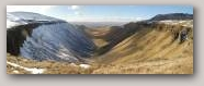 The classic U-shaped valley of High Cup Gill  » Click to zoom ->