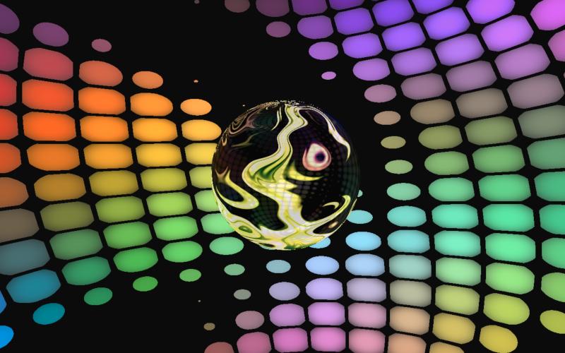 Molten sphere