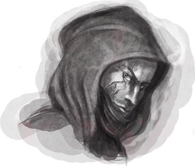Thief Face Sketch