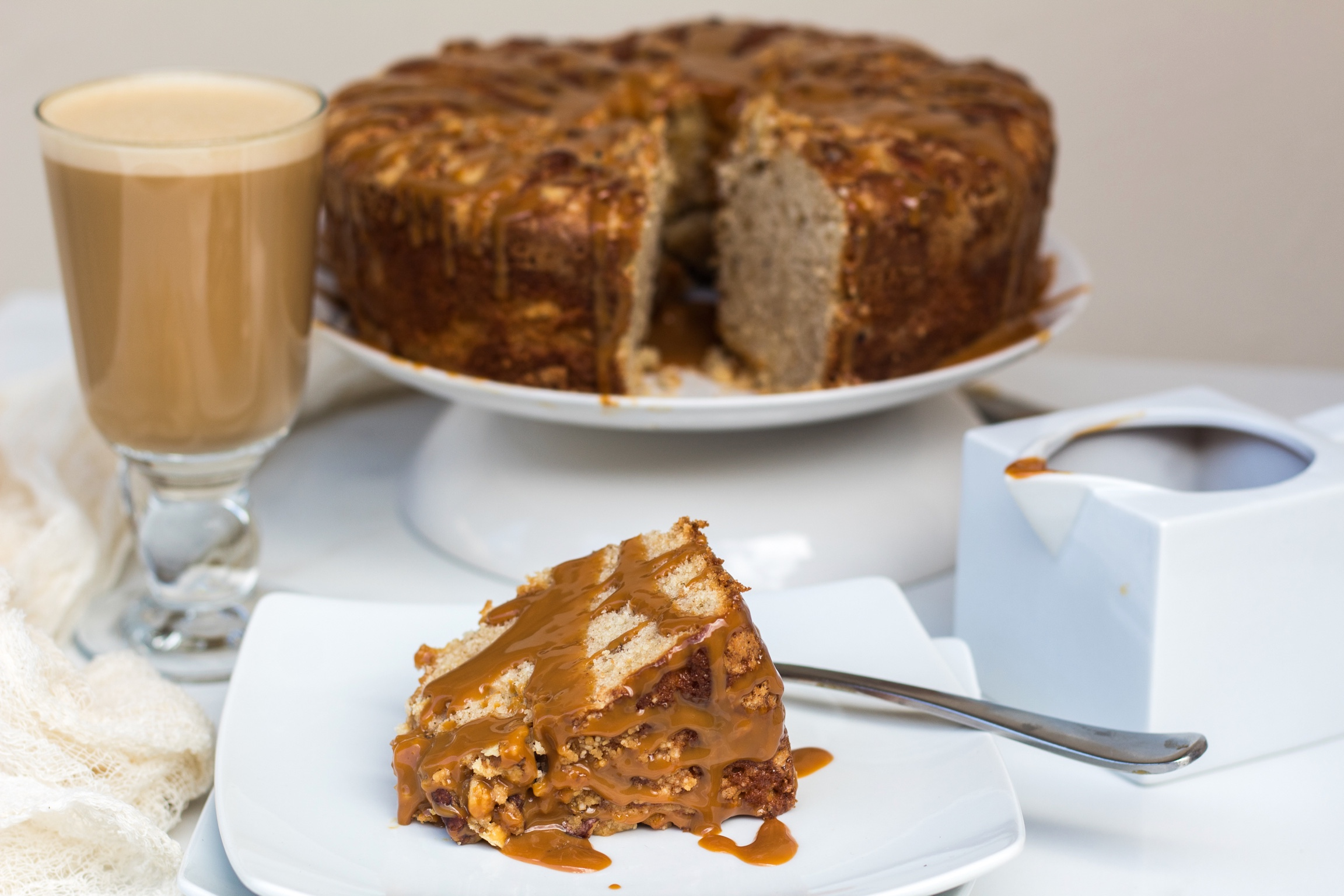 Spiced coffee cake