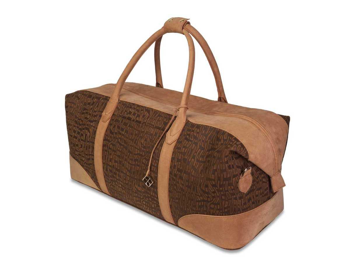 Weekender Set - brown patterned