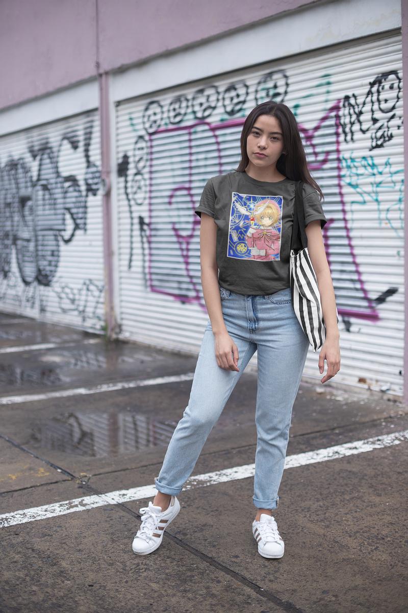 Cardcaptor Sakura Kinomoto Short-Sleeve T-Shirt