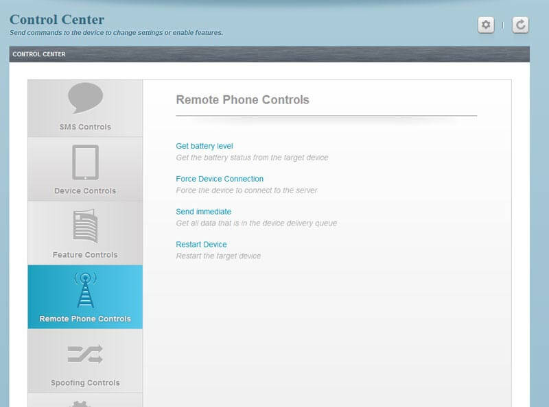 (Flexispy Demo) How To Tracker iPhone & Android phones (control-center)