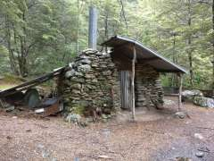 Old gold miner's hut