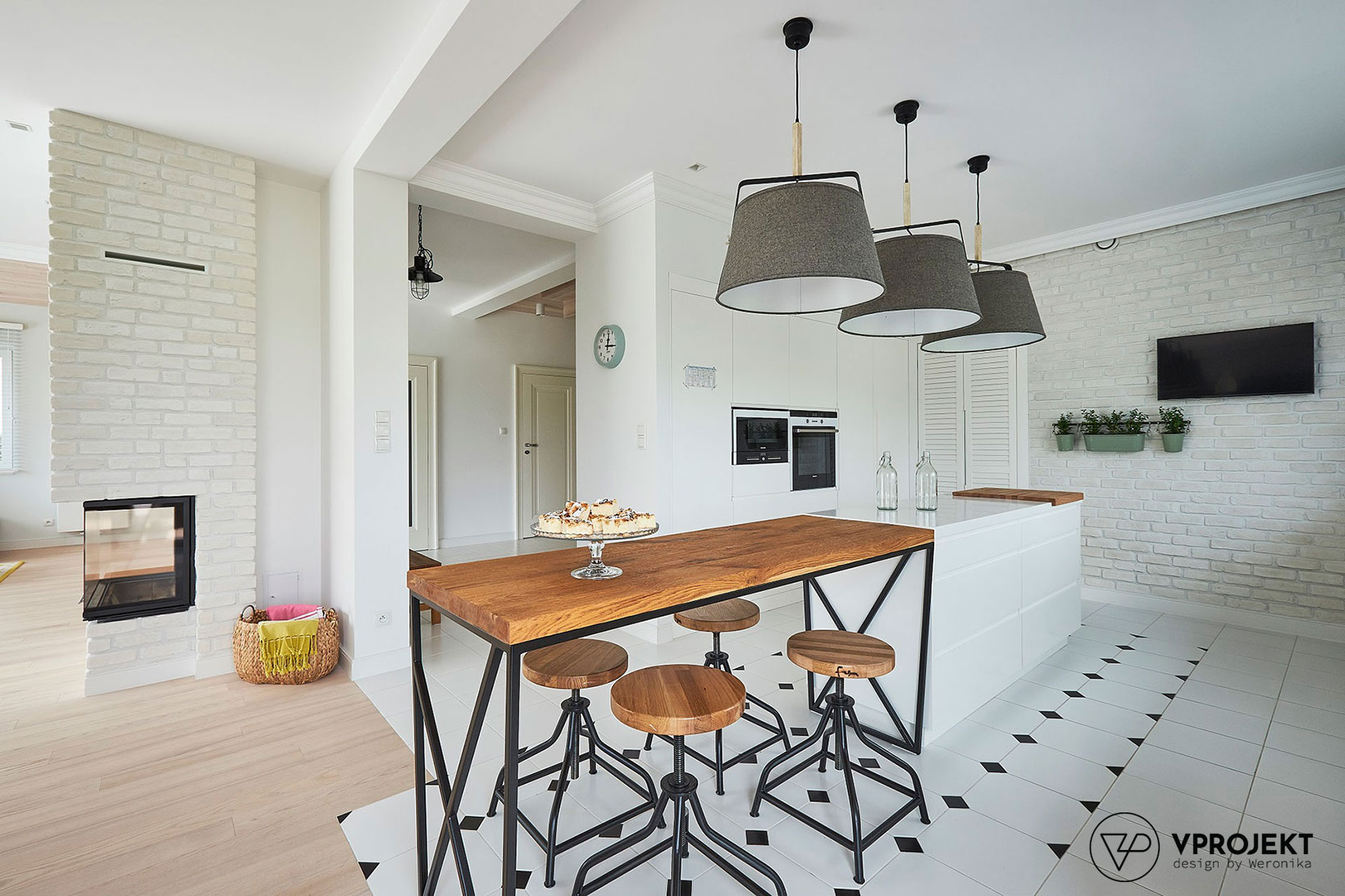 Kuchnia, dom w Iławie