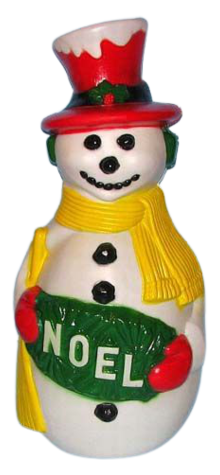 Deluxe Snowman w/ Red Hat photo