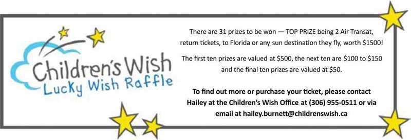 Children's Wish foundation Lucky wish raffle