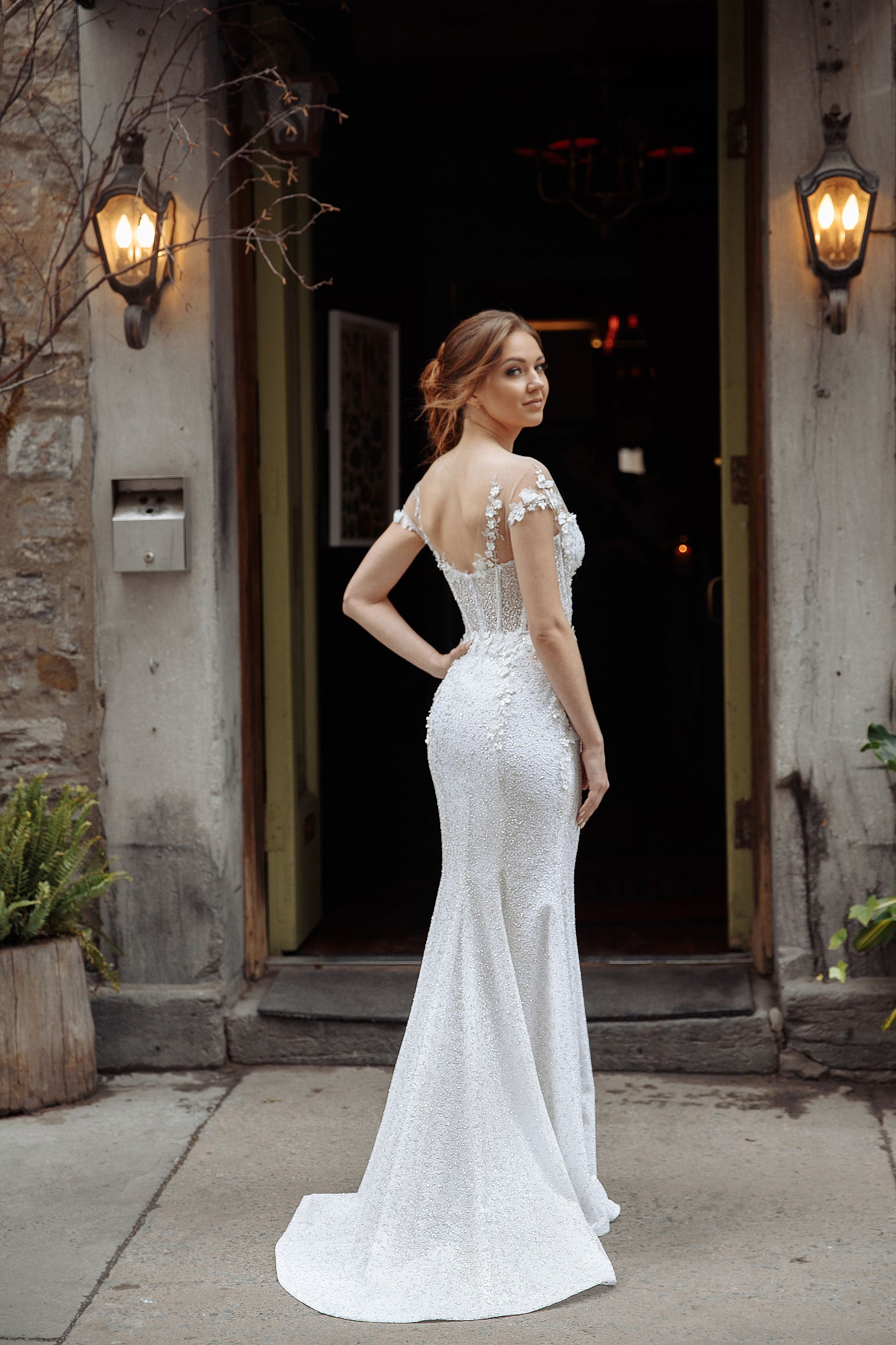 fit and flare wedding dresses montreal bridal boutique lilia haute couture