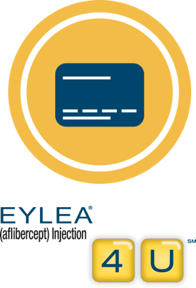 Each EYLEA treatment could cost $0 with the EYLEA copay card program.