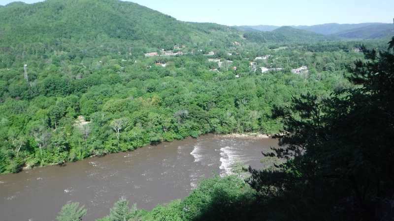 View from Lovers Leap