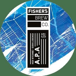 Fisher's APA keg badge