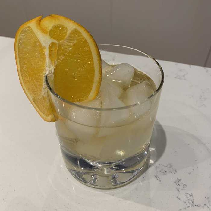 Apricot Lady Cocktail