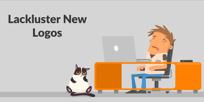 Lackluster New Logos