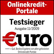Testsieger Finanztest 11/2009
