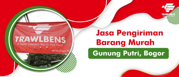 Jasa Pengiriman Barang Murah di Gunung Putri, Bogor