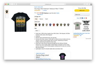 merch by amazon product page