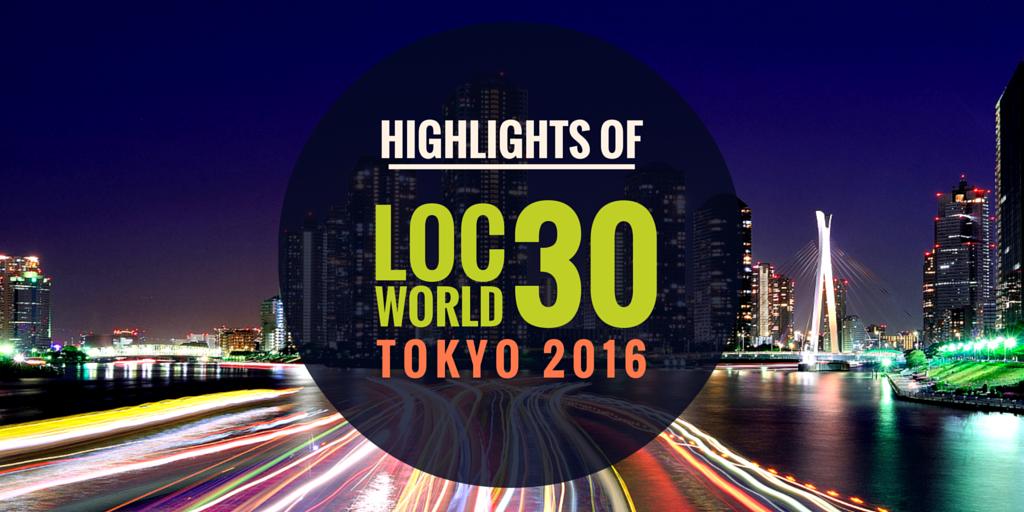 LocWorld30 Tokyo