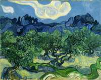 Olive Trees with the Alpilles in the Background by Vincent Van Gogh, 1889. Museum of Modern Art, New York