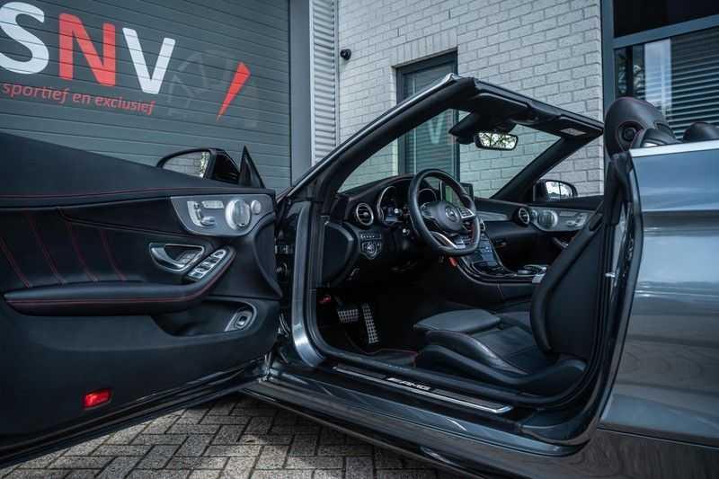 Mercedes-Benz C-Klasse Cabrio 43 AMG 4MATIC, 367 PK, Distronic Plus, Comfort/Pakket, Head/Up, LED, Airscarf, Sport/Uitlaat, 30DKM! afbeelding 10