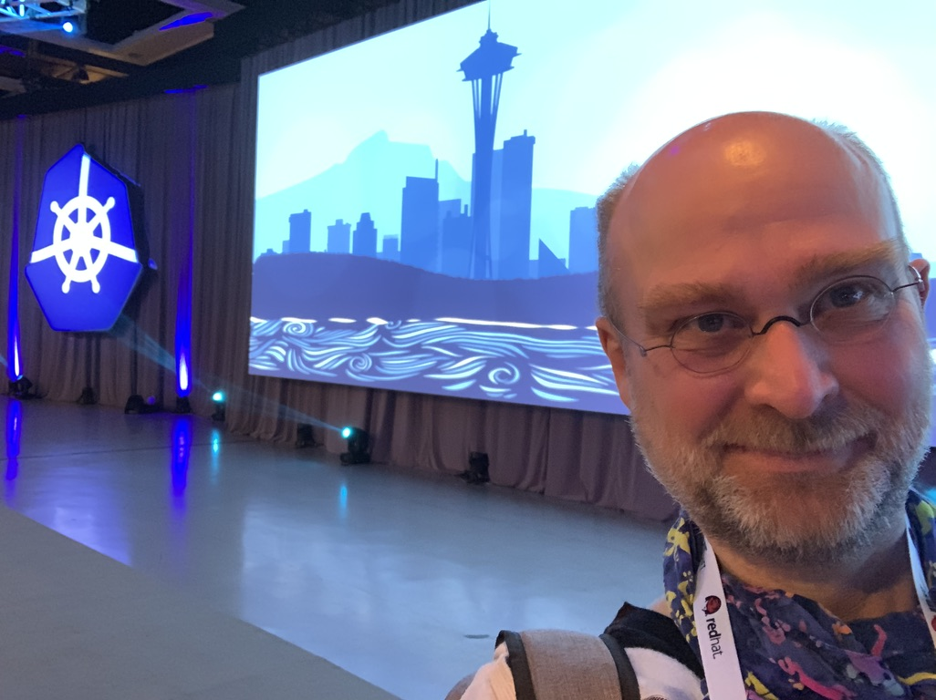 KubeCon Seattle Logo