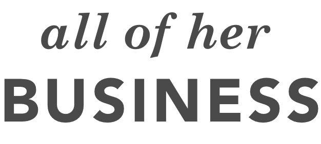 all of her BUSINESS logo