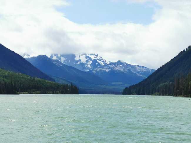 Les montagnes de BC