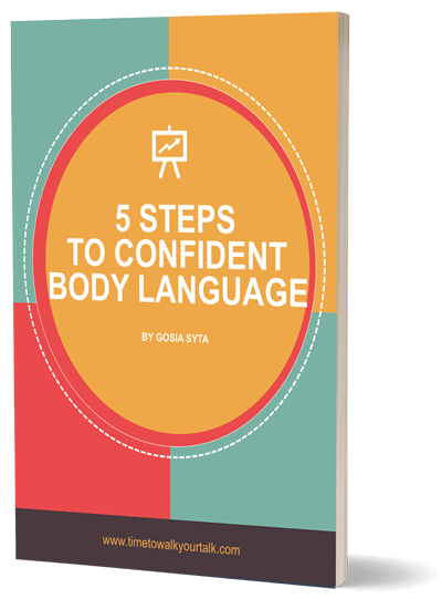 5 steps to confident body language