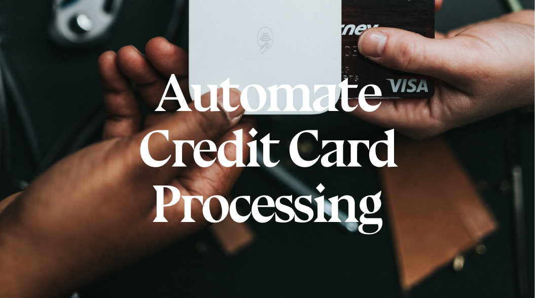Using RPA to automate Credit Card Processing to Enhance Customer Banking and Shopping Experience