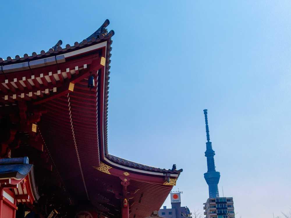 Sensō-ji (金龍山浅草寺) temple, Tokyo