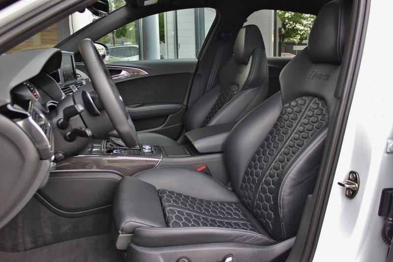 Audi RS6 4.0 V8 605pk Performance Quattro **Pan.dak/HUD/ACC/Camera/Carbon** afbeelding 20