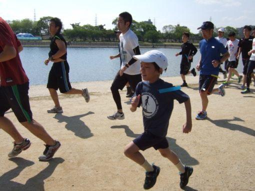 Yoshiki Running