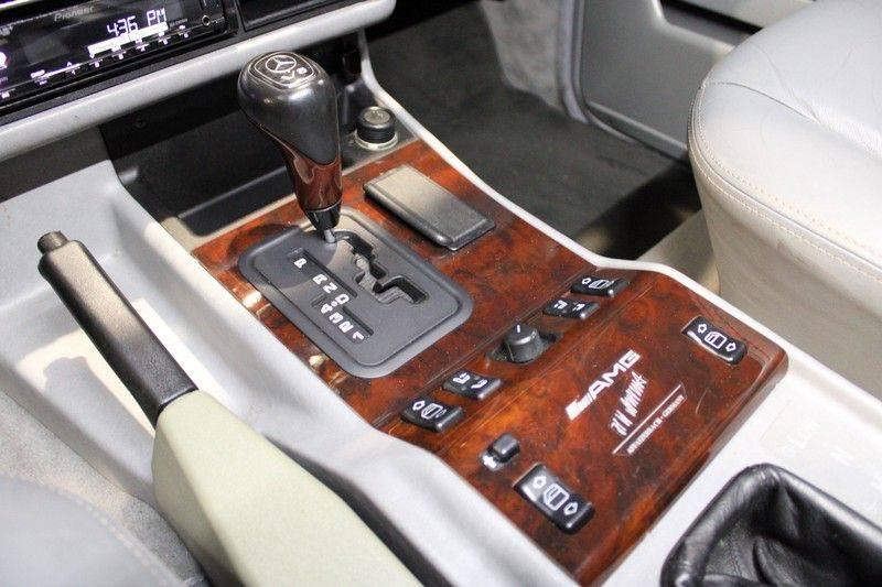 Mercedes-Benz G-Klasse 500 fabrieks 55-uitgev. Youngtimer aut. 7-zits afbeelding 7