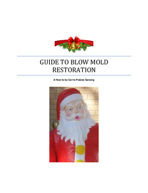 Blow Mold Restoration Guide preview