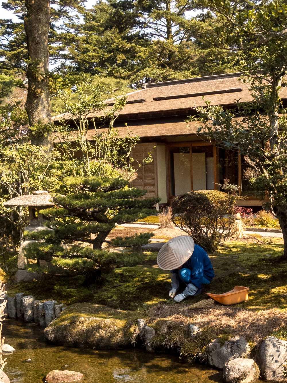 Kenroku-en Garden (兼六園), Kanazawa